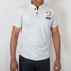 6c499e4a Abercrombie & Fitch - Abercrombie & Fitch Light Grey T-Shirt ...
