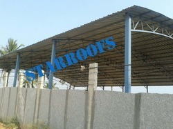Arch Type Roofing Sheds