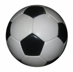 P.U Football black and white