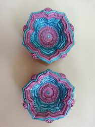 Decorative Colorful Diya