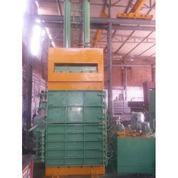 Single Box Double Cylinder Baling Machine