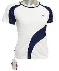 Round Neck Half Sleeves Sports T Shirts