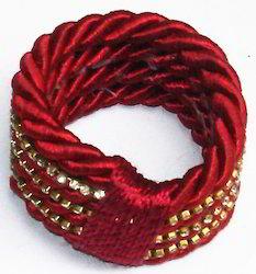 Wine Red Napkin Ring