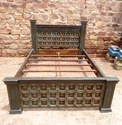 Old Wooden Indian Bed