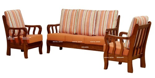 Teak Wooden Sofa Set