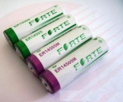 ER14505 AA Lithium Battery (lisocl2) Brand-Forte