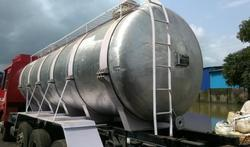 Aluminum tanker Cap. 22.5 Ton for Nitric Acid