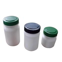 Milky White PET And HDPE 60g Bottle, For Personal Care And Pharmaceutical