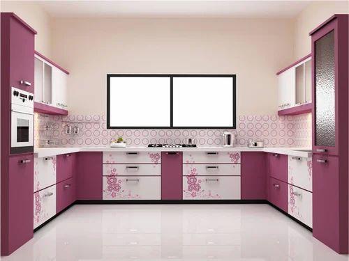 Pvc Kitchen Cabinet Vin Modular Furniture Manufacturer