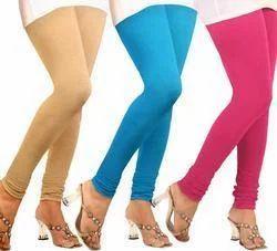 Casual Wear Plain Colored Slim Ladies Legging