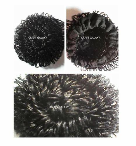 Synthetic Artificial Hair Juda Buns