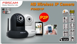HD Wifi IP Camera P2p