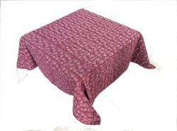 New Cotton Kantha Small Flower Table Cover