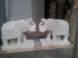 Decorative Marble Elephant