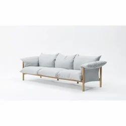 Designer 3 Seater Fabric Sofa | Furny Store | Service Provider in ...