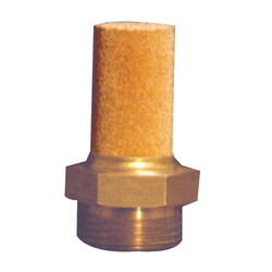 Sinter Bronze Brass Threaded Silencer