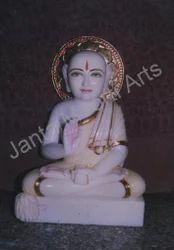 Marble Gautam Sculpture
