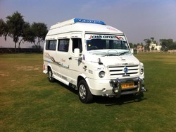 Tempo Traveller Rental in Ludhiana, टेम्पू