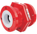 FEP & PFA Lined Ball Check Valves