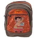 Chhota Bheem Brown School Bag