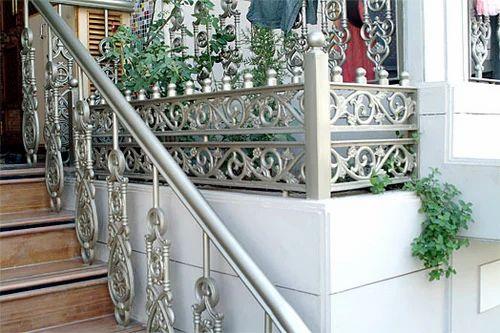 Cast Iron Stair Railing