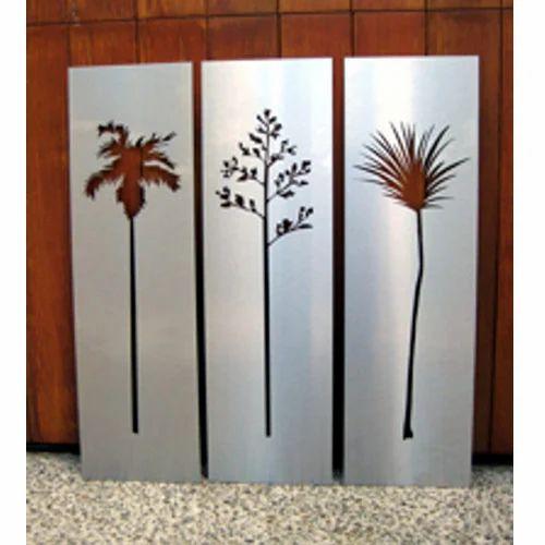Metal art abstract metal wall art manufacturer from mumbai