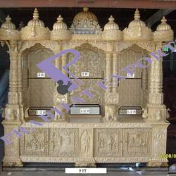 Wooden Marble Temple Swaminarayan