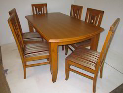 Wooden Top Dining Set