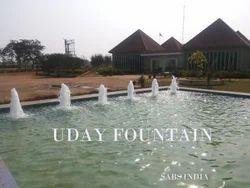 Static Lake Fountain