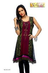 New Collection Designer Short Kurti Tunic Top for Ladies