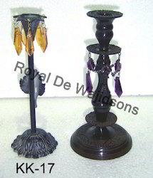 Wedding Beaded Candle Stand