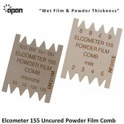 Uncured Powder Film Comb