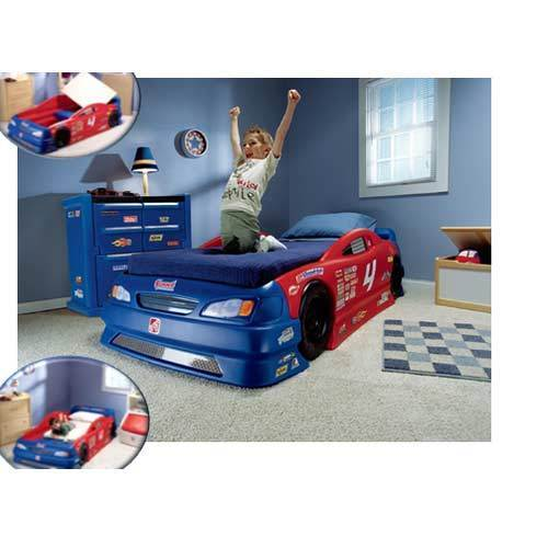 kids car bed