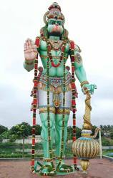 Wooden Lord Hanuman 4 feet