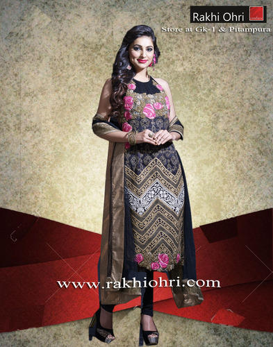 0a9c2b7c41 Designer Suits - Kalidaar Suit With Palazzo Manufacturer from New Delhi