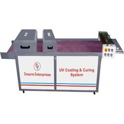 UV Coating And Curing Machines