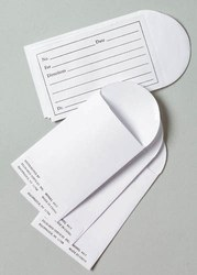 White Kraft Paper /Maplitho Medicine Envelopes, for Hospital, Official