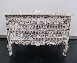 Bone Inlay Dresser