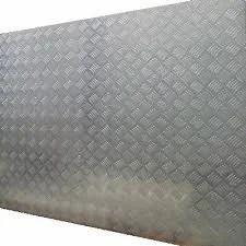 Compressed Alluminium  (Claded Checkered Flooring)