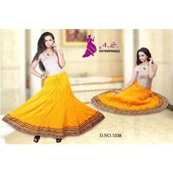 Fancy Long Skirts Manufacturer from Mumbai