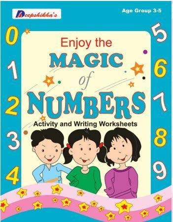 Magic Of Numbers Activity And Writing Worksheets, Children Activity ...