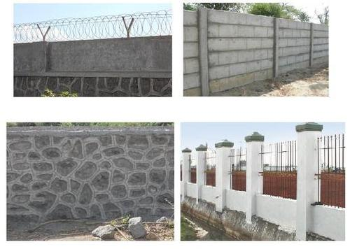 O   M Services Company. Compound Wall at Rs 50  square feet   Compound Wall   ID  8284232088