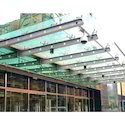 Silver Tunnel Stainless Steel Glass Canopy