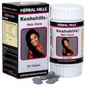 Herbal Hills Hair Growth Medicine - Keshohills Hair Care Supplement 60 Tablets, Packaging Size: 16x13x8