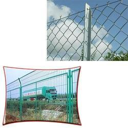 Galvanized Chain Link Fence for Ground Boundary