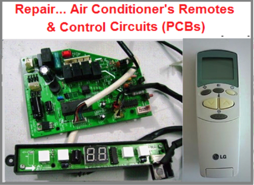 Repair   Air Conditioner Remote Control U0026 PCB