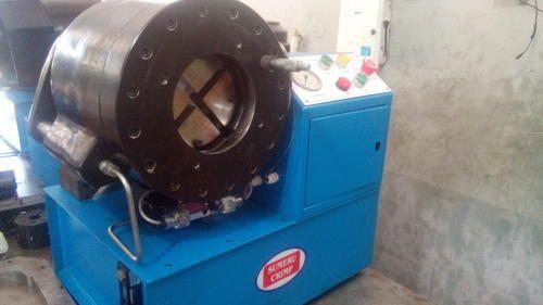 Speedo Meter Cable Crimping Machine