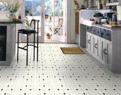 Marble Tile Flooring Work
