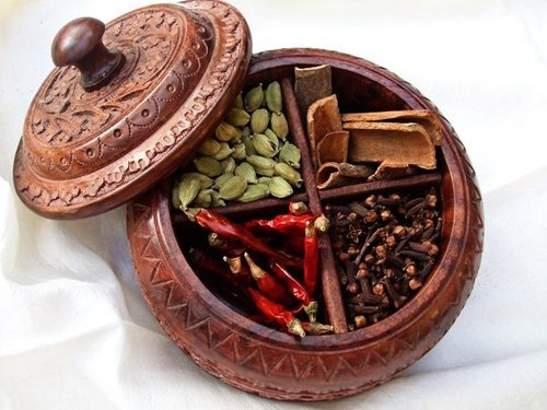 Wooden Carving Box Wooden Spice Box Manufacturer From