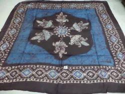 Pure Silk Batik Printed Square Scarves